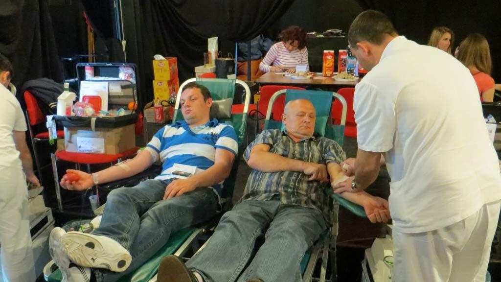 U srpnju prikupljeno 257 doza krvi!
