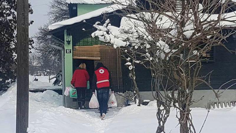 Pomoć sugrađanima u zimskim danima