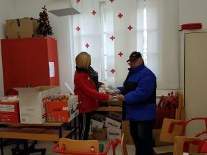 Podjela humanitarne pomoći